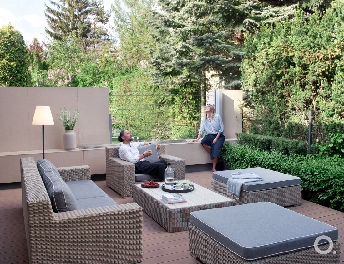 Przydomowy ogród miejski (proj. studio.o)_