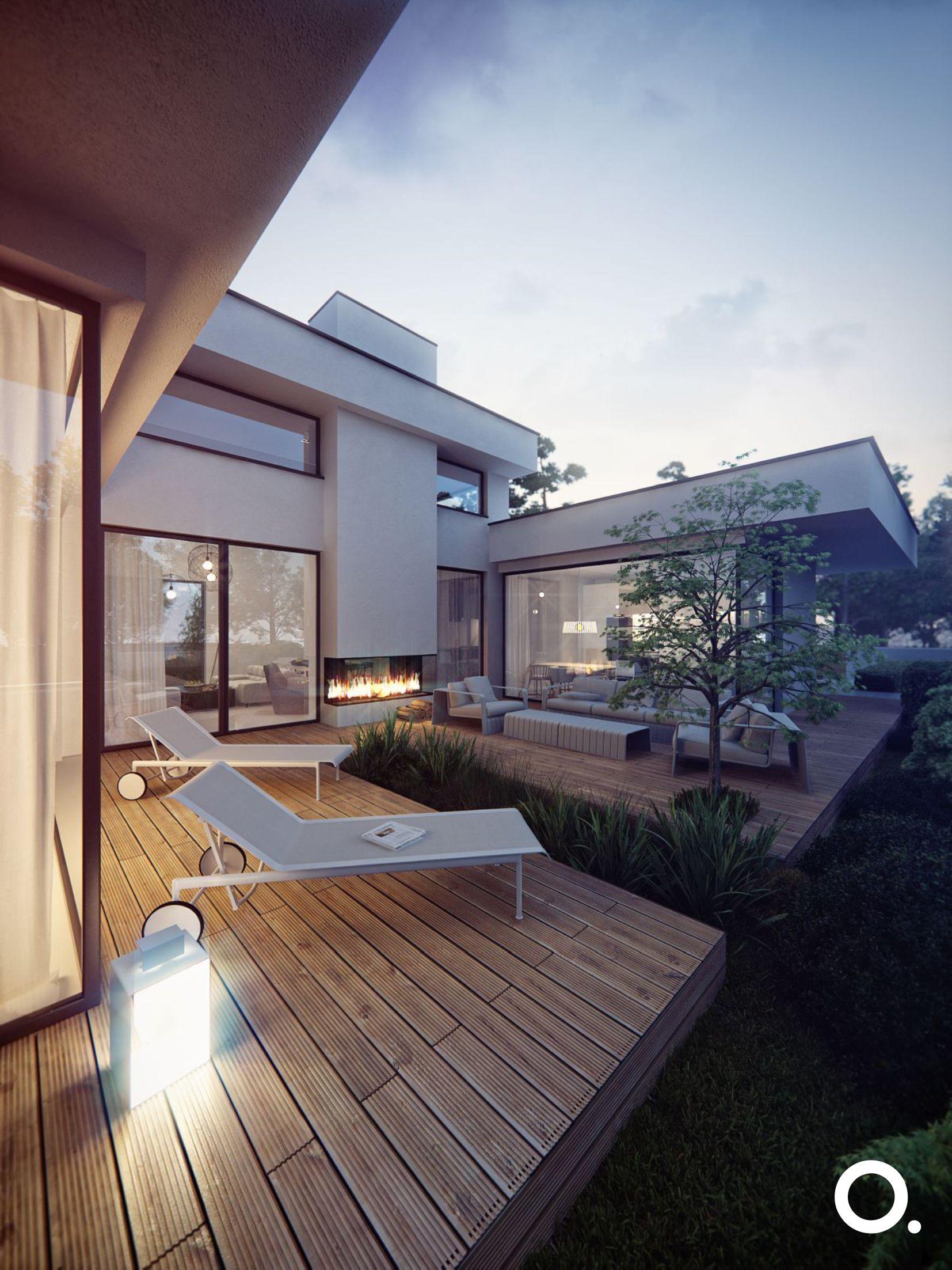 Stwórz za pomocą światła piękny klimat w ogrodzie | projekt: STUDIO.O