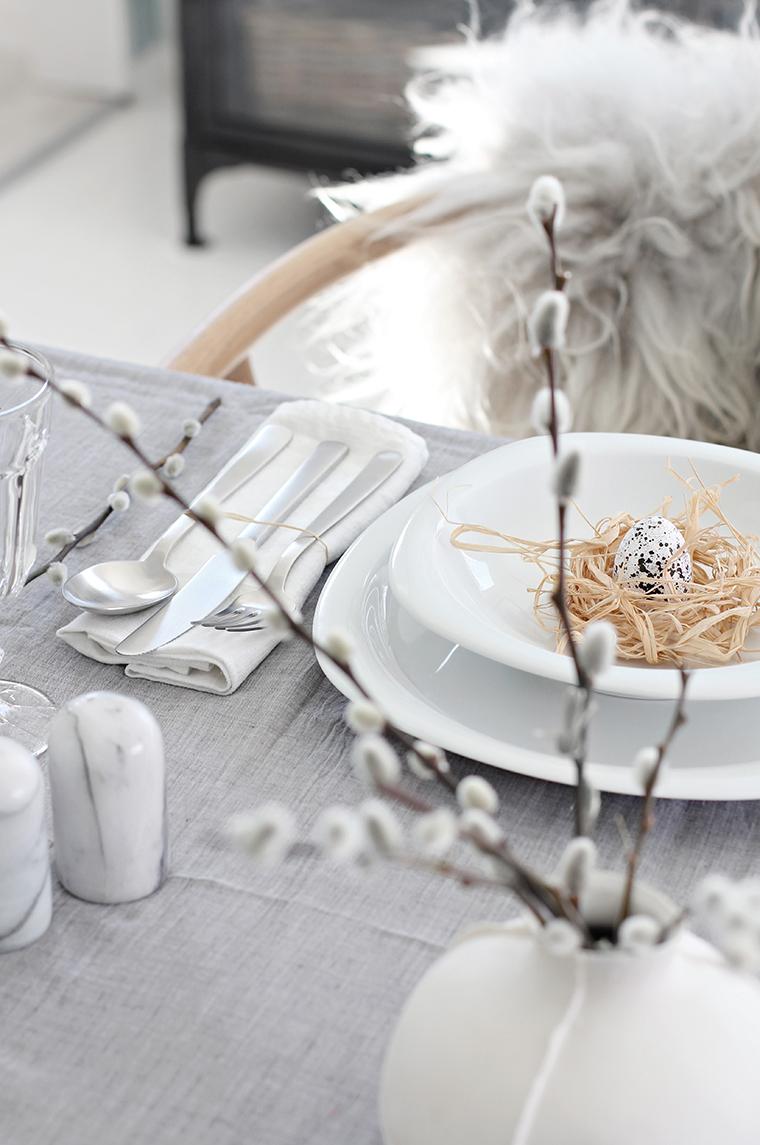 Bazie to nieodłączny element dekoracji stołu wielkanocnego
