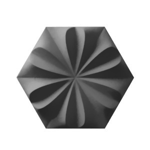 Wow Design Collection Fiore Graphite Matt