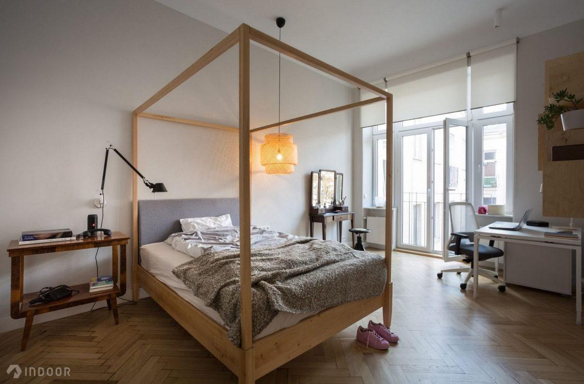 Pomysł na sypialnię | proj. Indoor (photo: Piotr Mastelarz)