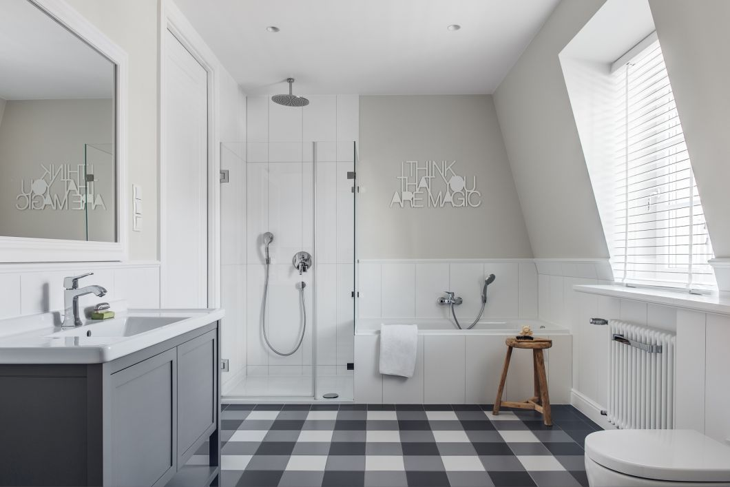 Projekt łazienki - LOFT Magdalena Adamus