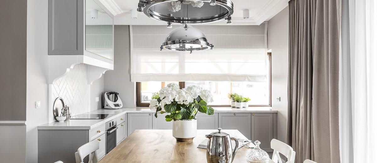Stylowa kuchnia | proj. SAS Wnętrza i Kuchnie