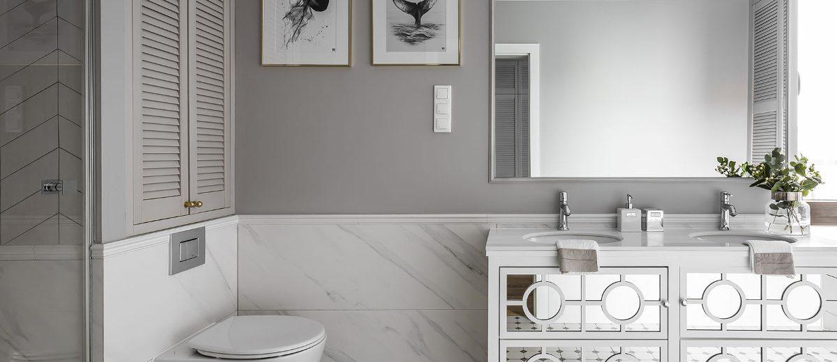 Łazienka | proj. SAS Wnętrza i Kuchnie