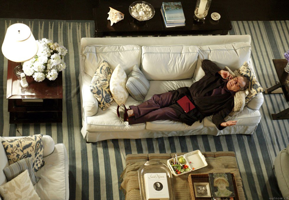 """Kadr z filmu ,,Lepiej późno, niż później"""" (2003)"""
