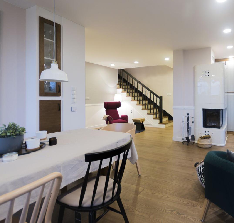 Projekt wnętrza domu w stylu Prowansalskim | Tworzywo Studio