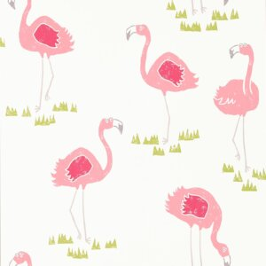 Tapeta Scion kolekcja Kids seria FELICITY FLAMINGO