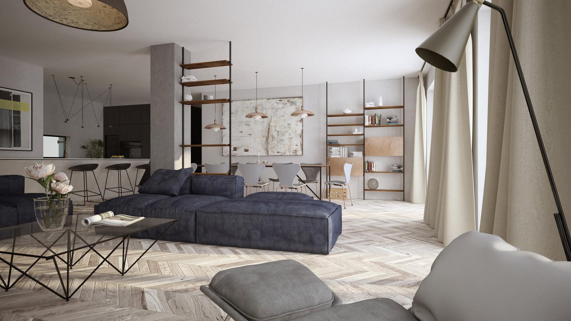 Apartament w Krakowie | Proj. Avocado Concept