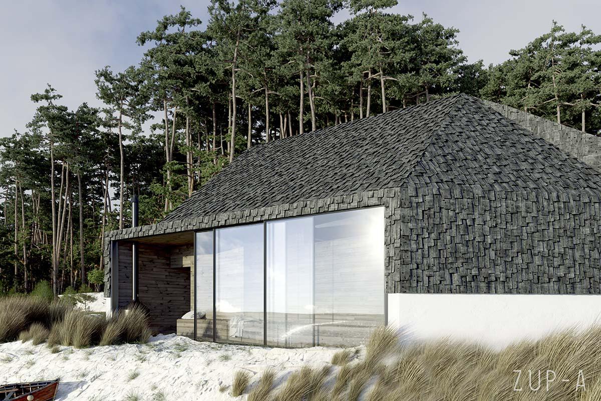 Dom przy plaży | Proj: Zup-a