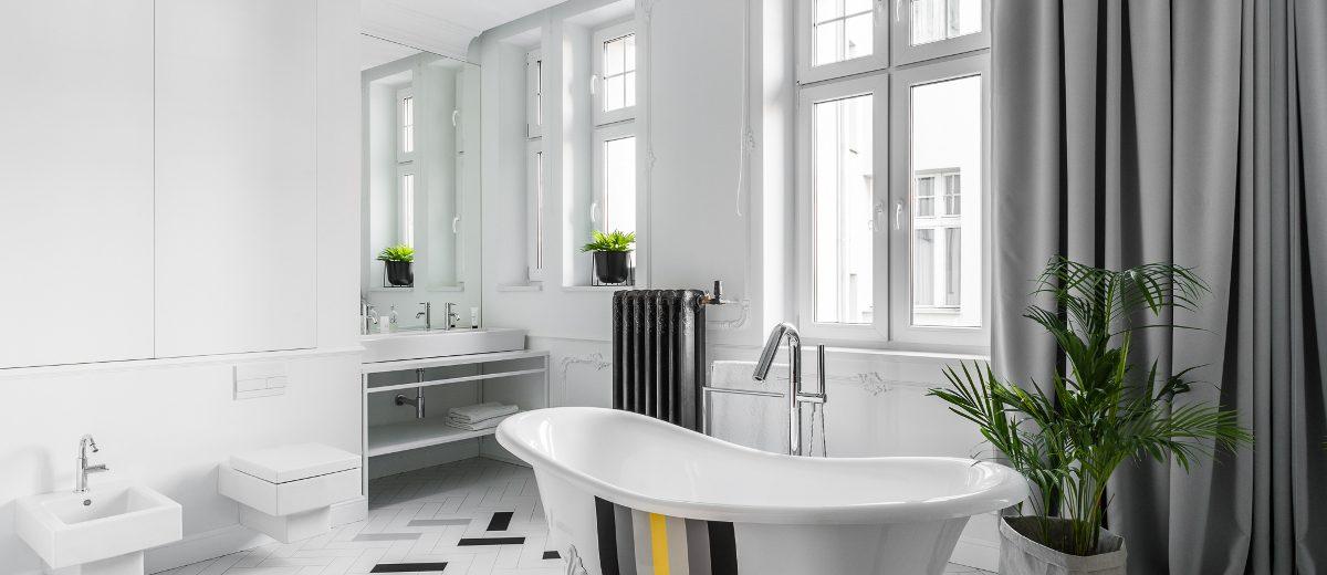 Stylowa łazienka | proj. Anna Maria Sokołowska Architektura Wnętrz