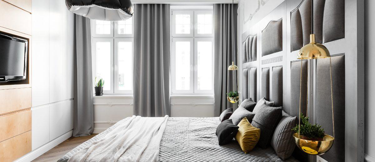 Sypialnia | proj. Anna Maria Sokołowska Architektura Wnętrza
