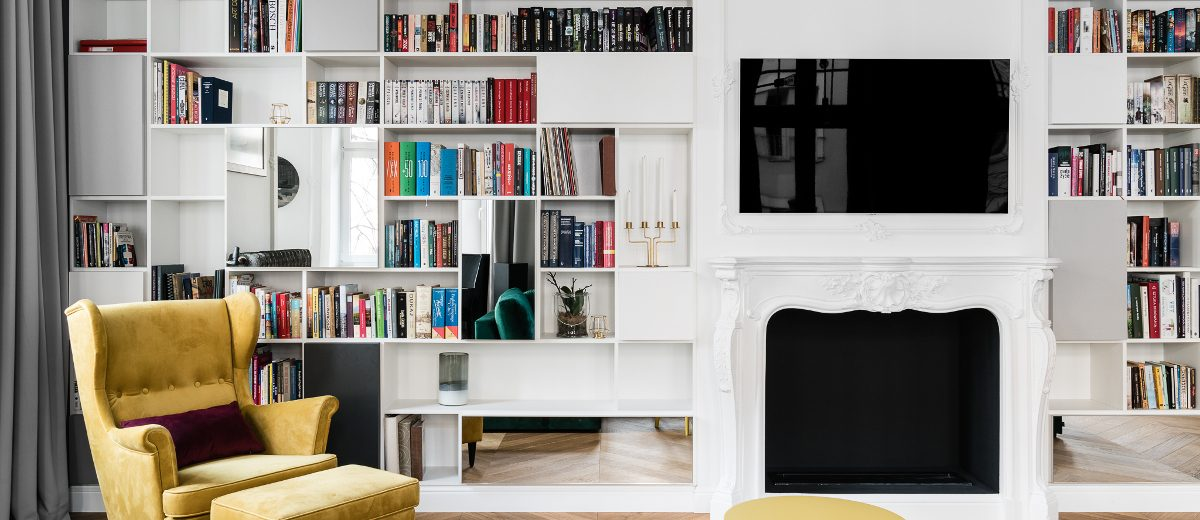 Salon w paryskim klimacie | proj. Anna Maria Sokołowska Architektura Wnętrz