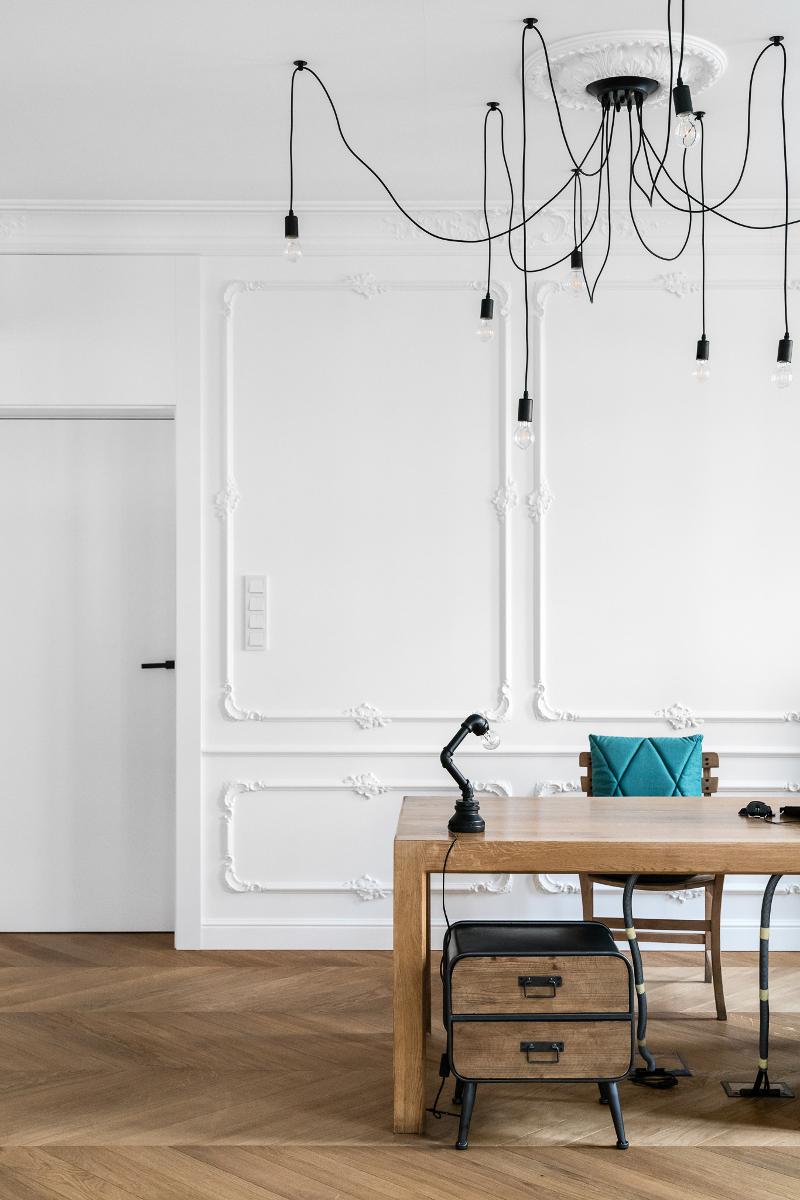Domowy gabinet | proj. Anna Maria Sokołowska Architektura Wnętrz (zdjęcia: Fotomohito)
