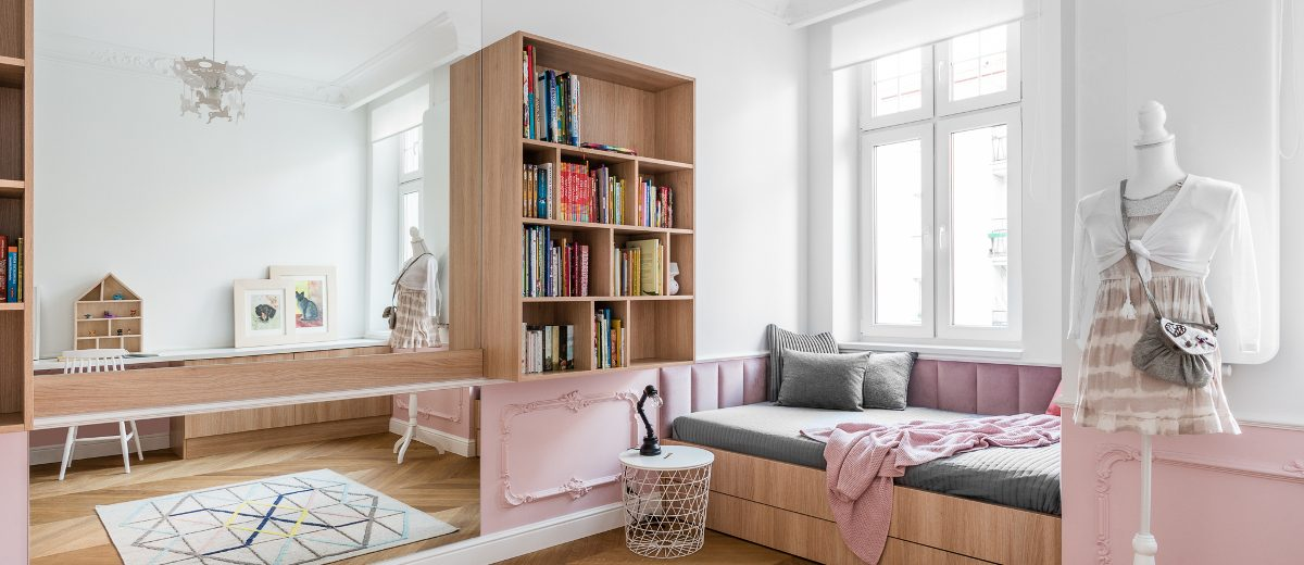 Pokój dziecięcy | proj. Anna Maria Sokołowska Architektura Wnęrz