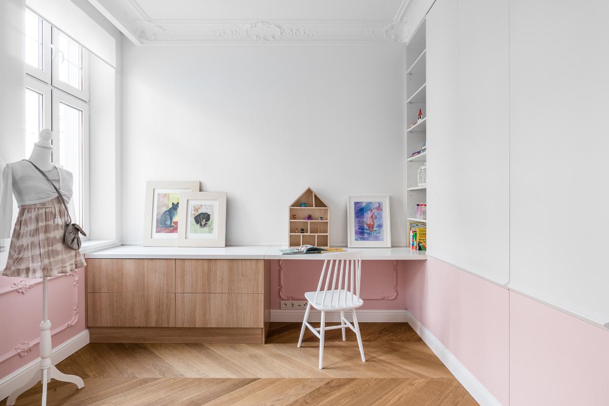 Pokój dziecięcy | proj. Anna Maria Sokołowska Architektura Wnętrz (zdjęcia: Fotomohito)