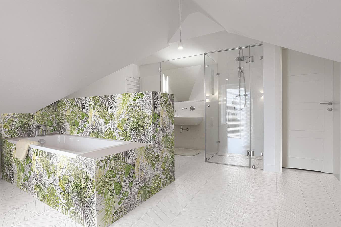 Płytka Ornamenta Jungle dostępna w Internity Home i Prodesigne