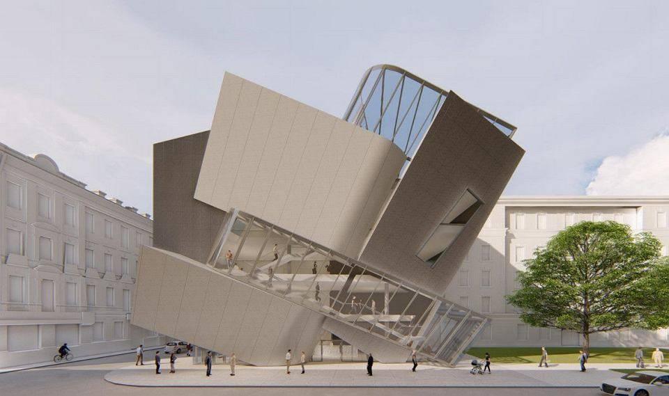 Nowa siedziba Łódź Architecture Center - projekt Daniel Libeskind