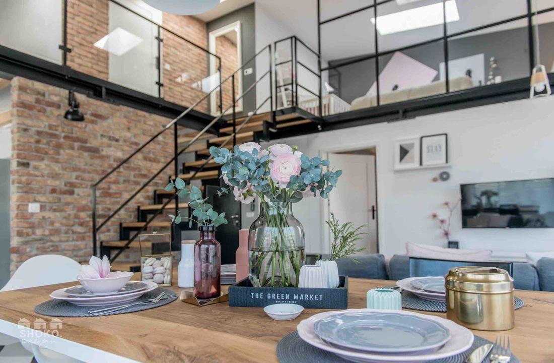 Dom z antresolą | proj. Shoko Design