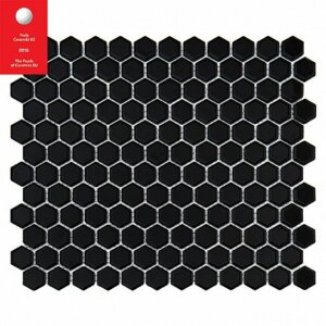 Mozaika Dunin kolekcja Arabesco Mini Hexagon Black