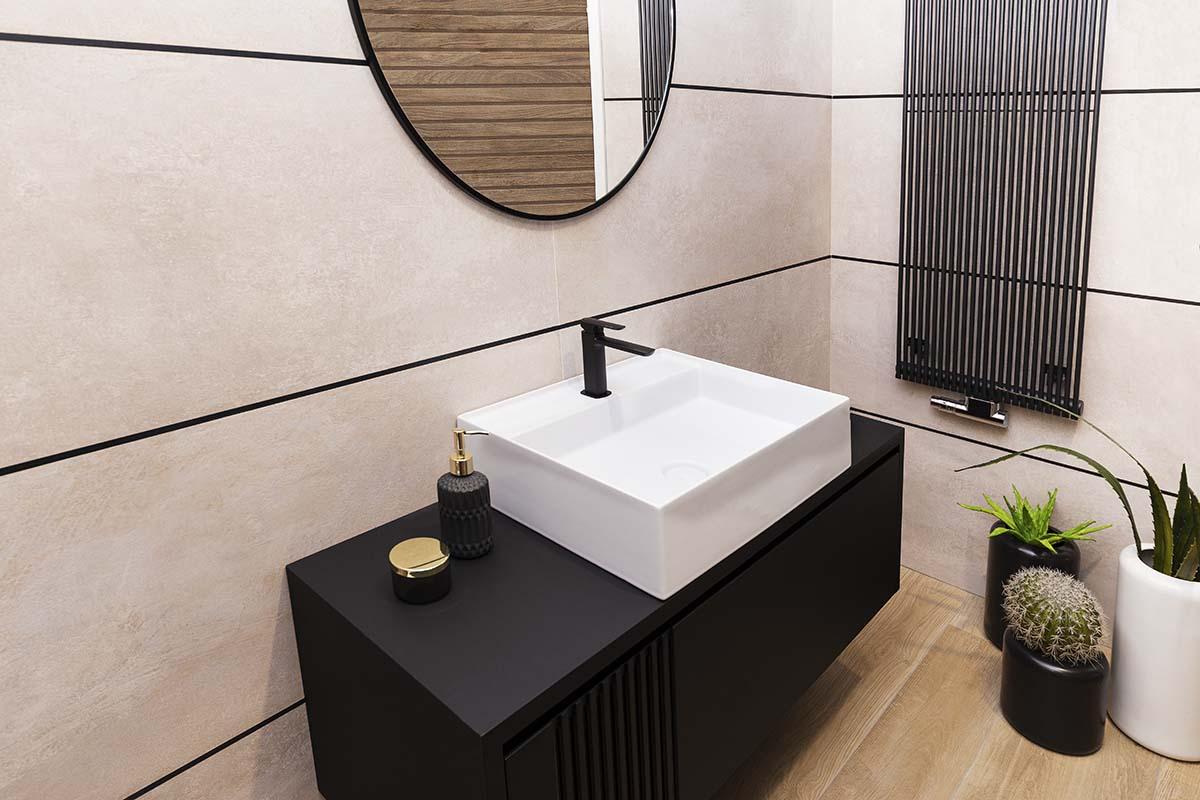 Łazienka z Prysznicem od Hushlab | Produkty dostępne w Internity