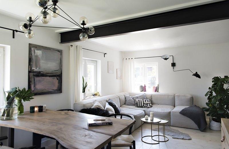 Salon z jadalnią | proj. Studio LOKO
