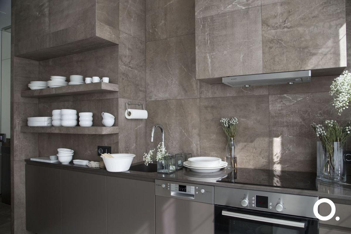 Płytki Marazzi wykorzystane w tej kuchni możesz kupić w naszych showroomach Internity Home i Prodesigne (proj. Studio.O.)