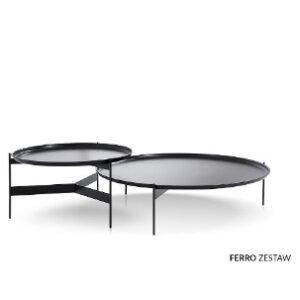 Inspirium Ferro zestaw stolików