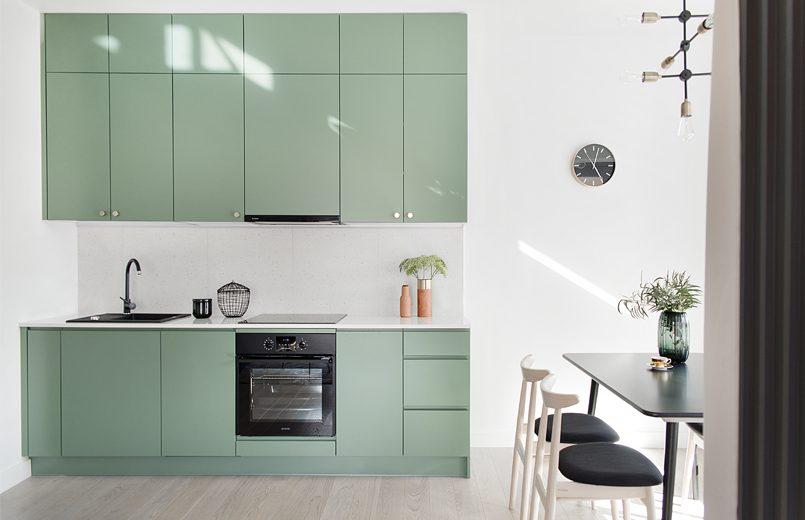 Kuchnia w kolorze   proj. Studio LOKO (zdjęcie: Magdalena Płoszaj)