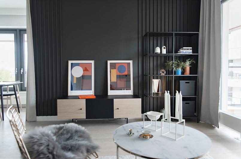Salon | proj. Studio LOKO (zdjęcie: Magdalena Płoszaj)