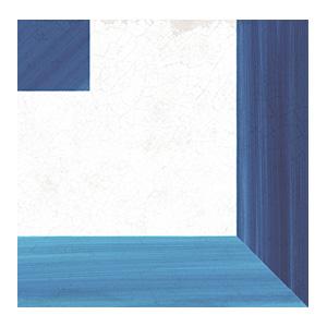 "Płytki Wow Design kolekcja BLANC ET BLEU ""B&B"" seria SQUARE DECOR 18,5×18,5cm / 7″x7″"