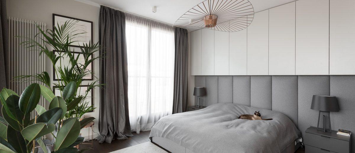 Pomysł na sypialnię | proj. Patrycja Dmowska