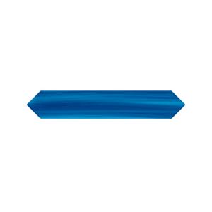"""Płytki Wow Design kolekcja BLANC ET BLEU """"B&B"""" seria CRAYON BLEU 4×22,6cm / 1,5″x9″"""
