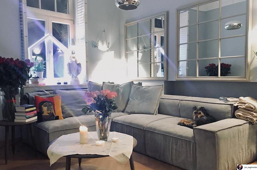 Dom, w którym mieszka Borys Szyc z partnerką Justyną Nagłowską.