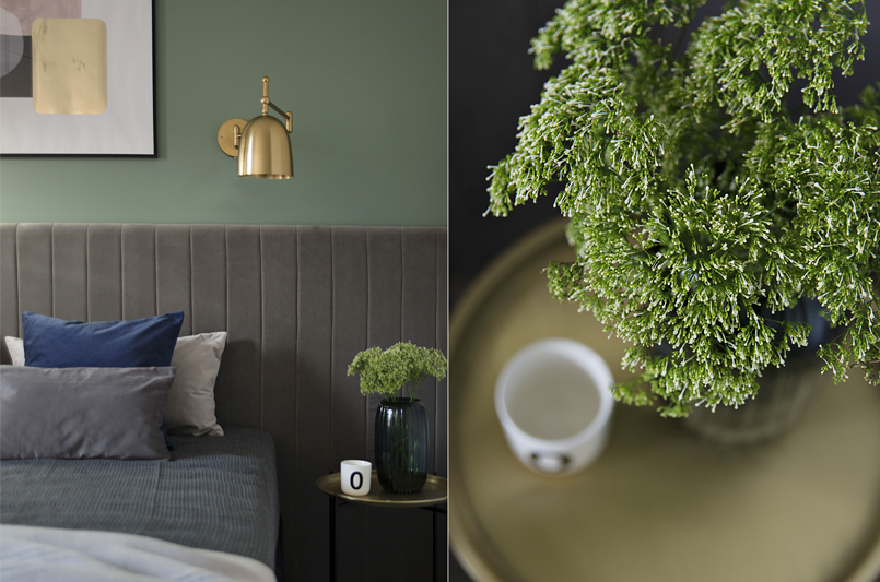 Pomysł na sypialnię | proj. Studio LOKO(zdjęcie: Magdalena Płoszaj)
