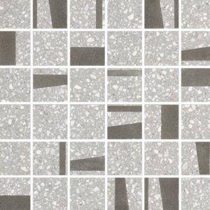 Płytki Marazzi kolekcja Pinch Light Grey Mosaico M0KZ