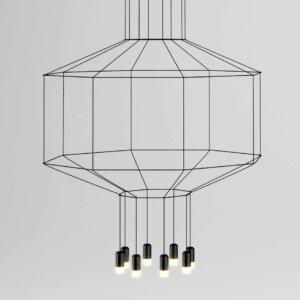 Lampa zwieszana Vibia kolekcja Wireflow 3D