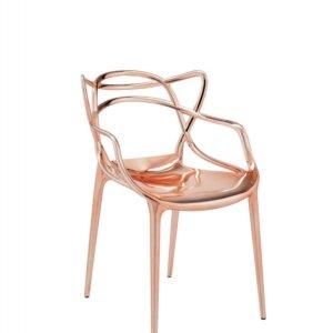 Krzesło metalizowane Kartell Masters