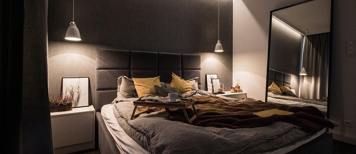 Sypialnia | proj. TK Architekci