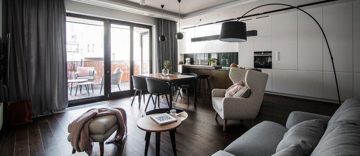 Aranżacja mieszkania | proj. TK Architekci
