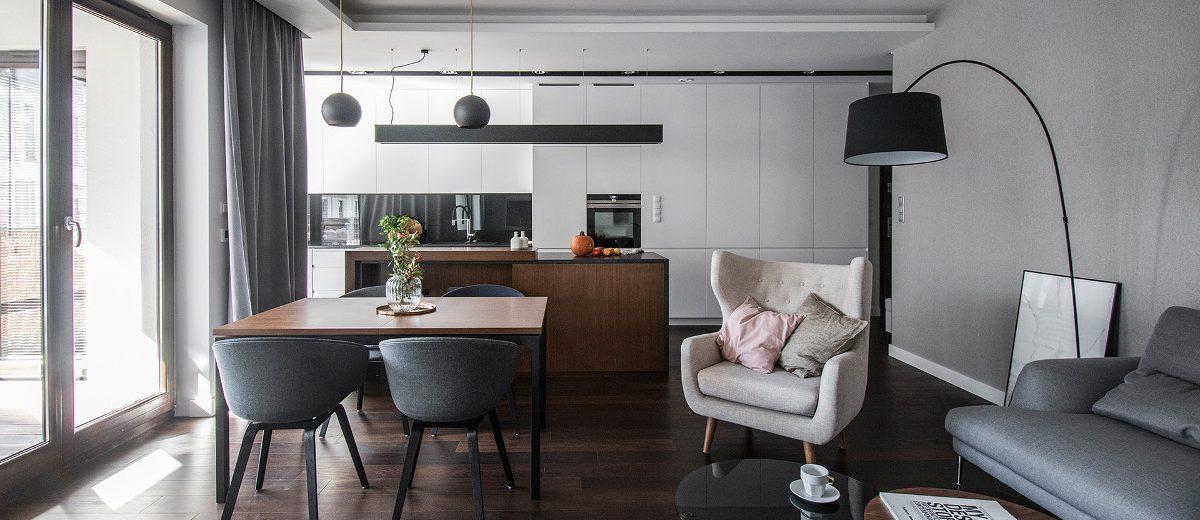 Projekt mieszkania - TK Architekci