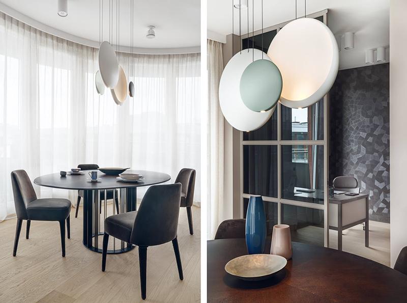 Designerskie lampy Vibia Cosmos możesz kupić w naszych showroomach: Internity Home i Prodesigne (proj. Katarzyna Kraszewska)