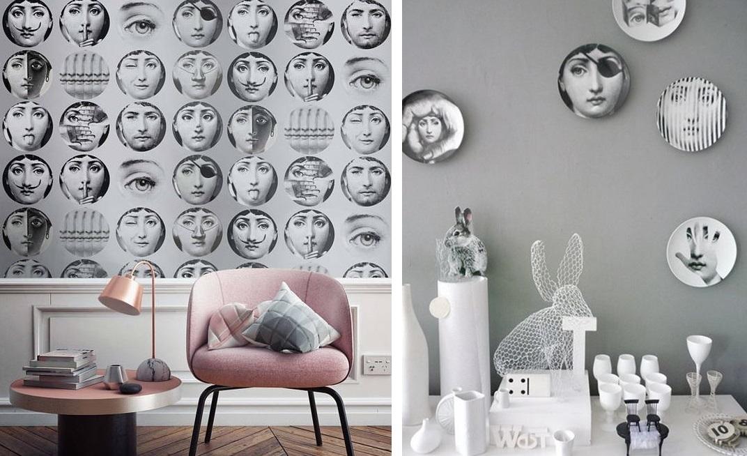 Wplatanie w nowoczesne wnętrza ikon designu Piero Fornasetti