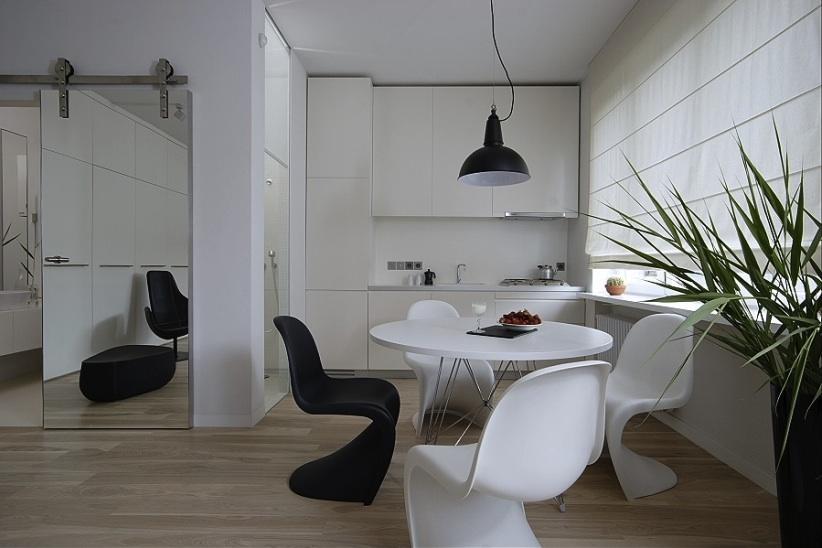 Kultowe krzesła Pantony w projekcie Indoor