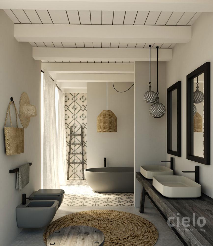 Sanitarka od marki Cielo jest dostępna w naszych showroomach: Internity Home i Prodesigne