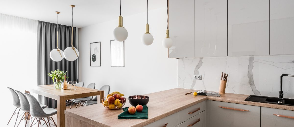 Kuchnia z jadalnią | proj. Studio Projekt, zdjęcie: Fotomohito