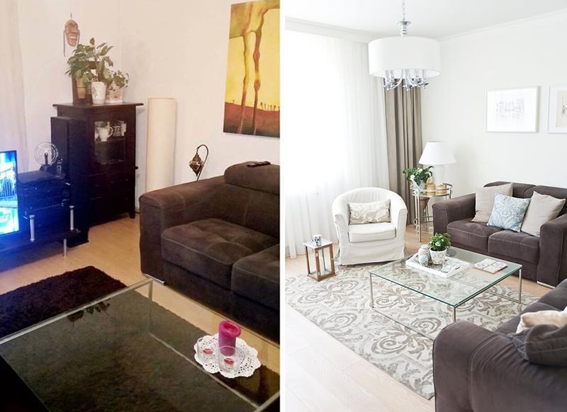 Mieszkanie przed i po metamorfozie