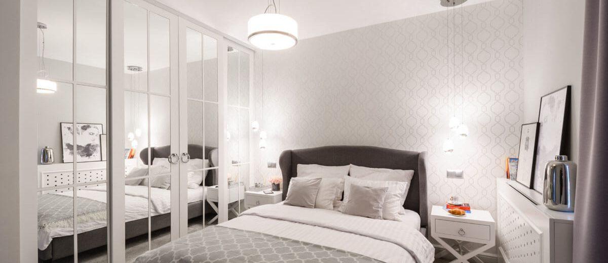 Sypialnia w nowojorskim stylu | proj. Duet Studio