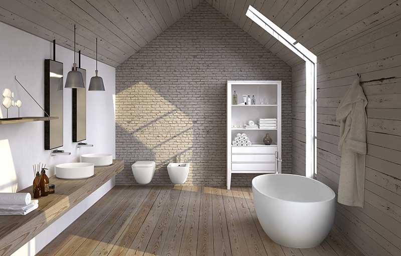 Ceramika Cielo w aranżacji łazienki