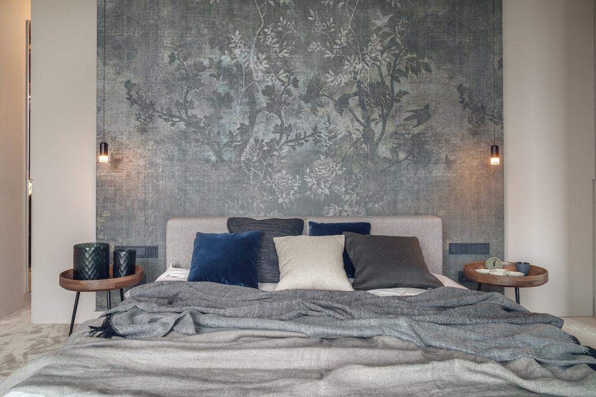 Tapeta Wall & Deco w projekcie Katarzyny Kraszewskiej