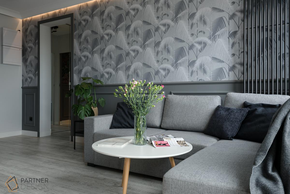 Tapeta Palm Jungle od Cole & Son jest dostępna w naszych showroomach   proj. Partner Design